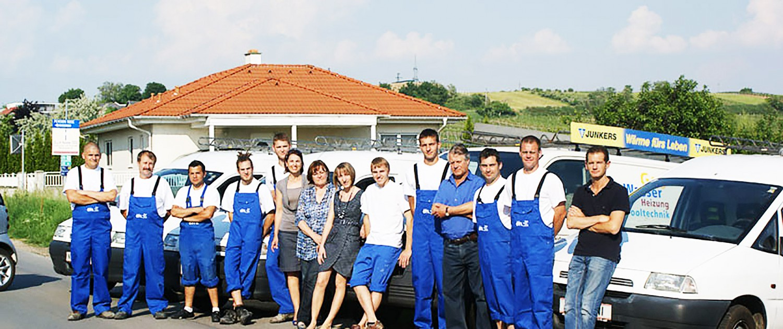 Zufriedener Kunde Markus Ettl Installateur in Neusiedl am See und Weiden am See - Unser Team