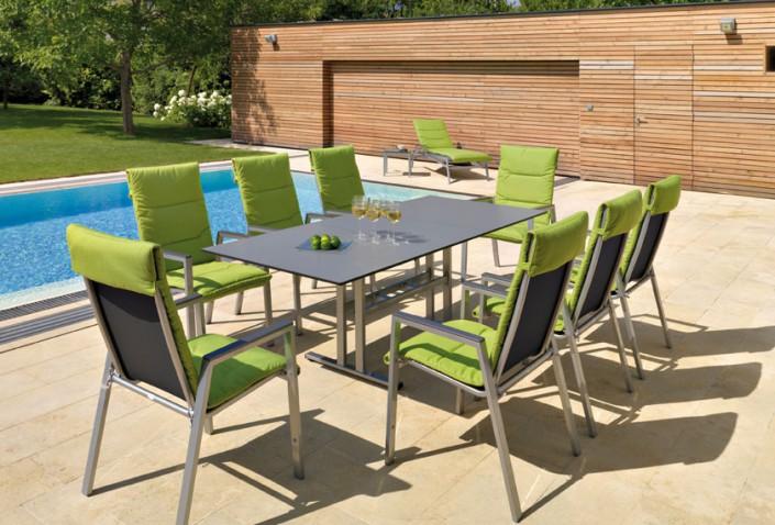 Gartentischsitzgruppe Sonnenliegen - Gartenmöbel bei Ettl