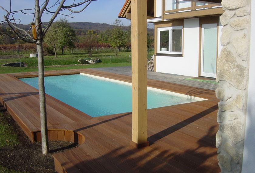 Zufriedener Kunde Markus Ettl Installateur in Neusiedl am See und Weiden am See - Pool 9d
